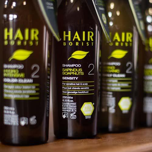 Natuurlijke Hairborist shampoo bij Haarstudio Sindy